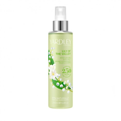 Yardley London Lily of the Valley Body Mist 200ml