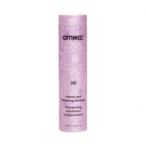 Amika 3D Volume and Thickening Shampoo 300ml (Hair Products)