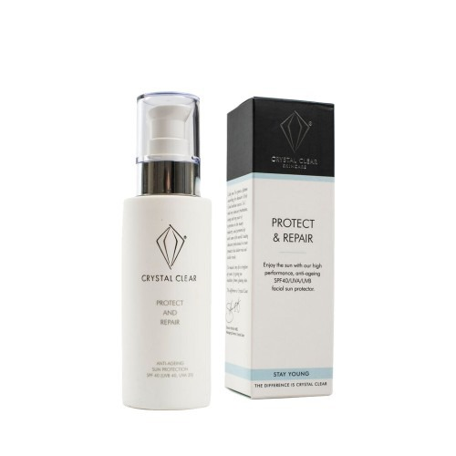 Crystal Clear Protect & Repair SPF 40 125ml