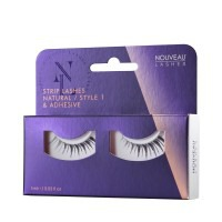 Nouveau Lashes Strip Lashes Natural / Style 1