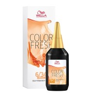 Wella Professionals Color Fresh Shade 6/34 Dark Gold Red Blonde 75ml