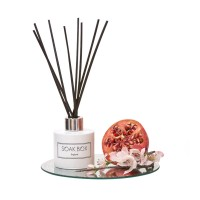 Soak-Box Apple Blossom & Pomegranate Luxury Reed Diffuser 100ml