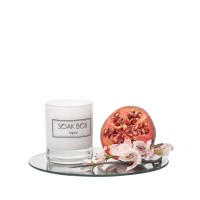 Soak-Box Apple Blossom & Pomegranate Candle 20c