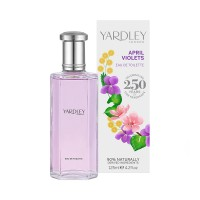 Yardley London April Violets Eau de Toilette 125ml