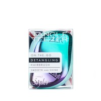 Tangle Teezer Compact Styler Detangling Hairbrush - Petrol Blue Ombre