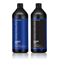 Matrix Total Results Brass Off Shampoo & Conditioner 1000ml