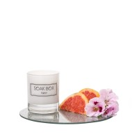 Soak-Box Geranium, Grapefruit & Patchouli Candle 20cl