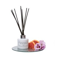 Soak-Box Geranium, Grapefruit & Patchouli Luxury Reed Diffuser 100ml