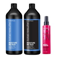 Matrix Total Results Moisture Me Rich Shampoo & Conditioner and Miracle Creator 200ml