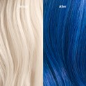 Wella Professionals Color Fresh Mask Blue Before and after