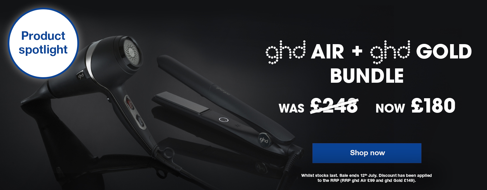 ghd gold and air bundle