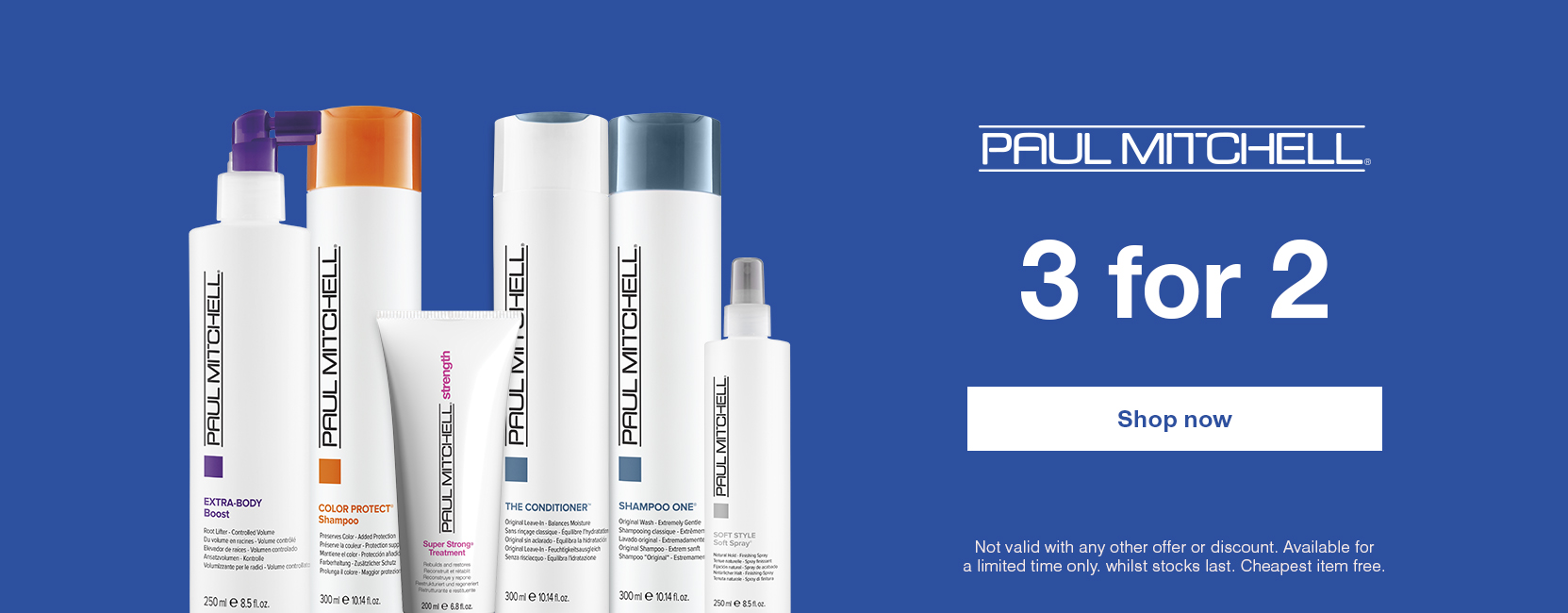 Paul Mitchell 2 for 2