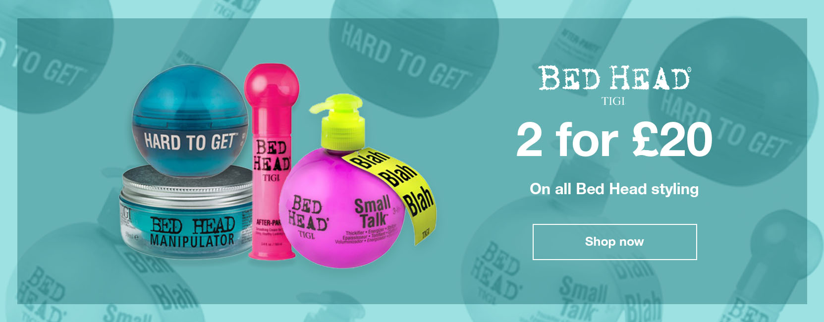 2 TIGI Styling Products for £20