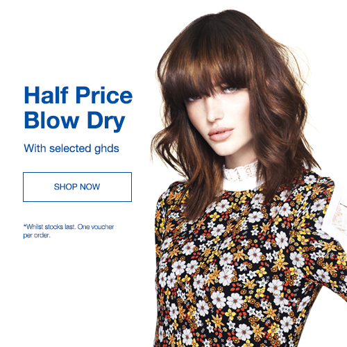 Half Price Blow Dry Voucher