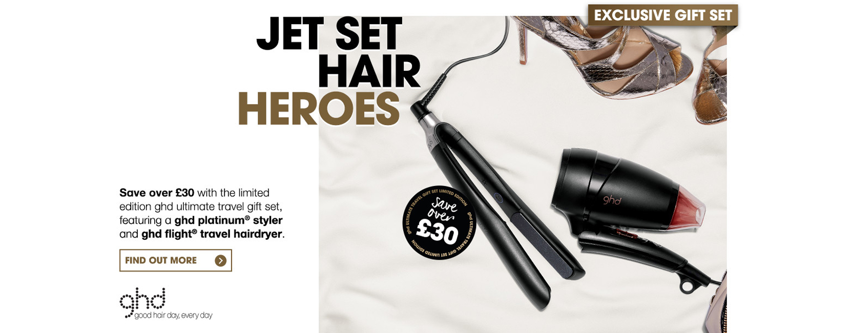 ghd Ultimate Travel Set