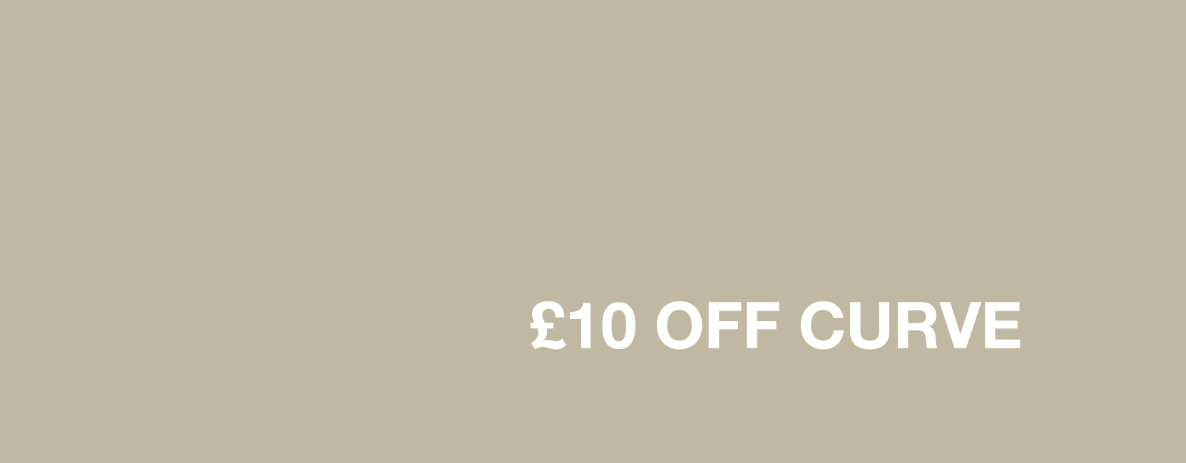 £10 Off ghd Curve