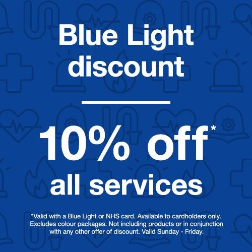 Supercuts Blue Light Discount