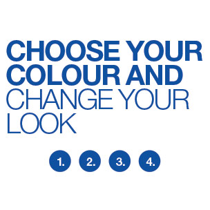 Choose your colour and change your look