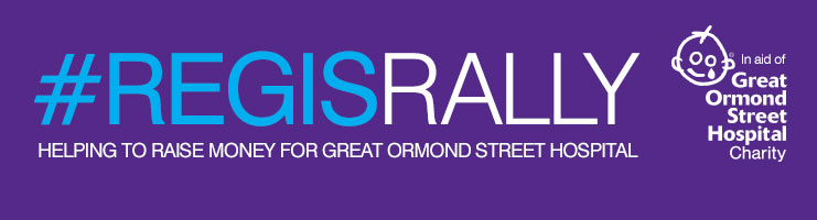 Regis Rally - Helping to raise money for Great Ormond Street Hospital