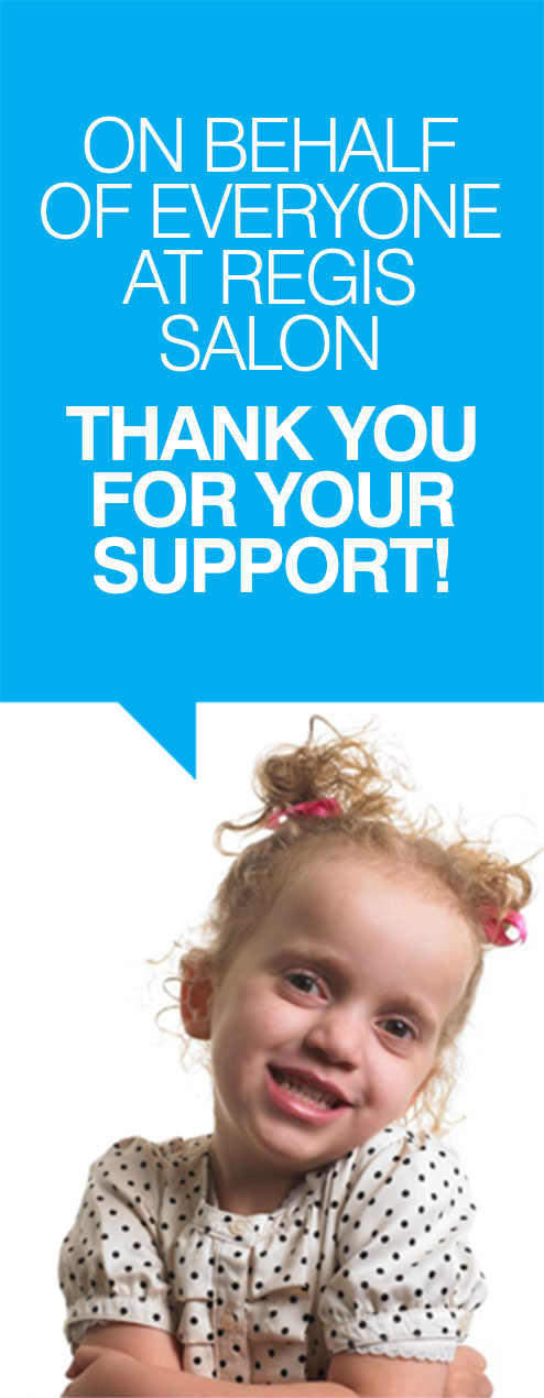 On behalf of everyone at Supercuts - Thank you for your support!