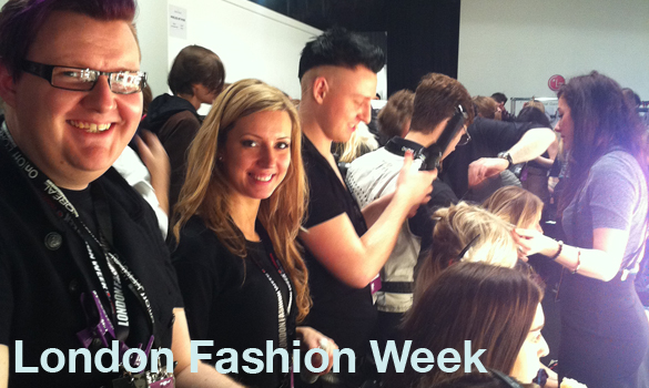 Supercuts at London Fashion Week