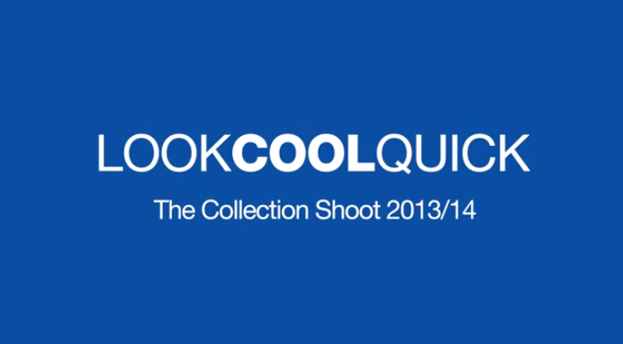 Look Cool Quick : The Shoot
