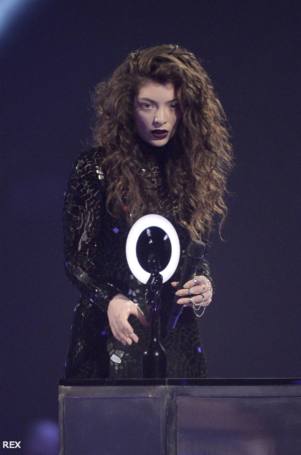 Lorde-Brit-Awards-Hair