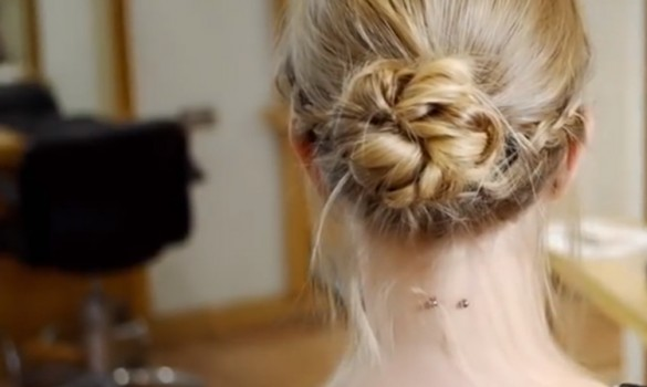 '70s Braided Up-Do