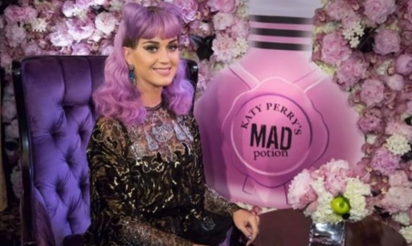 Katy Perry's Lavender Locks