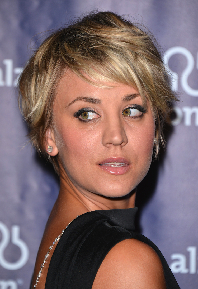Kaley Cuoco's gorgeous short cut