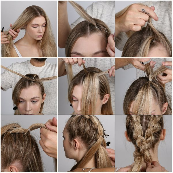 supercuts step by steps double braided pony - Copy