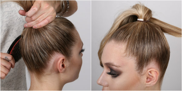 samurai bun how to steps 5-6