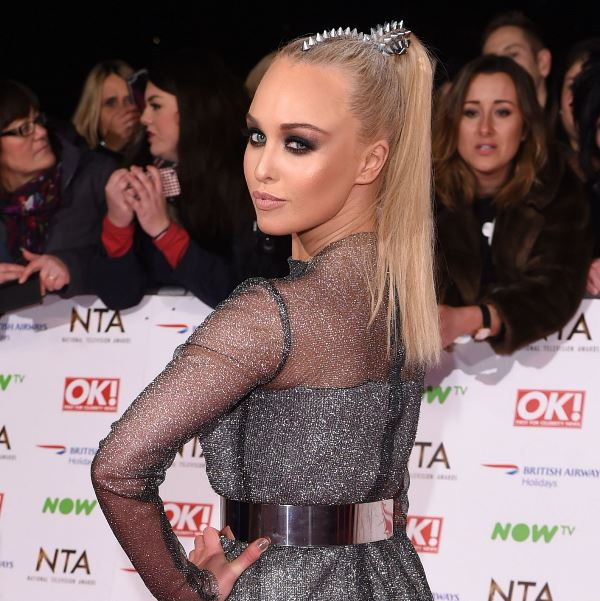 jorgie porter national television awards 2016