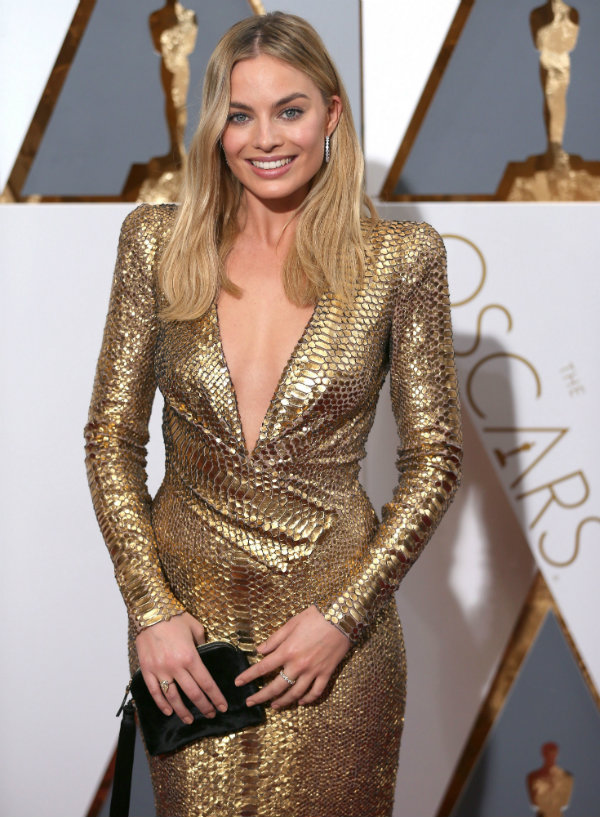 margot robbie oscars academy awards 2016