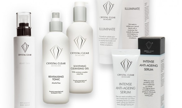 New Brand Alert! Crystal Clear Skincare