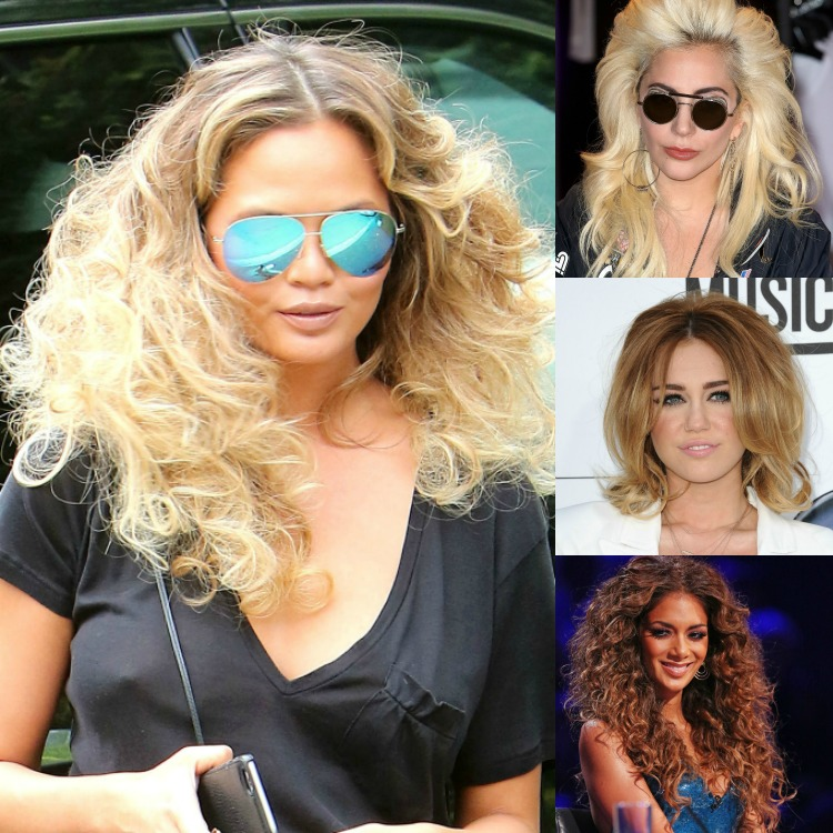 Big Hair Collage