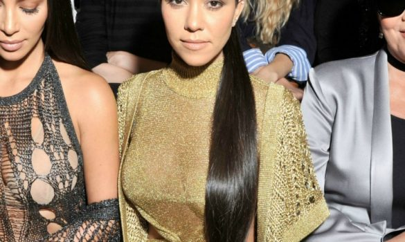 Get the Look: Kourtney Kardashian's High Ponytail
