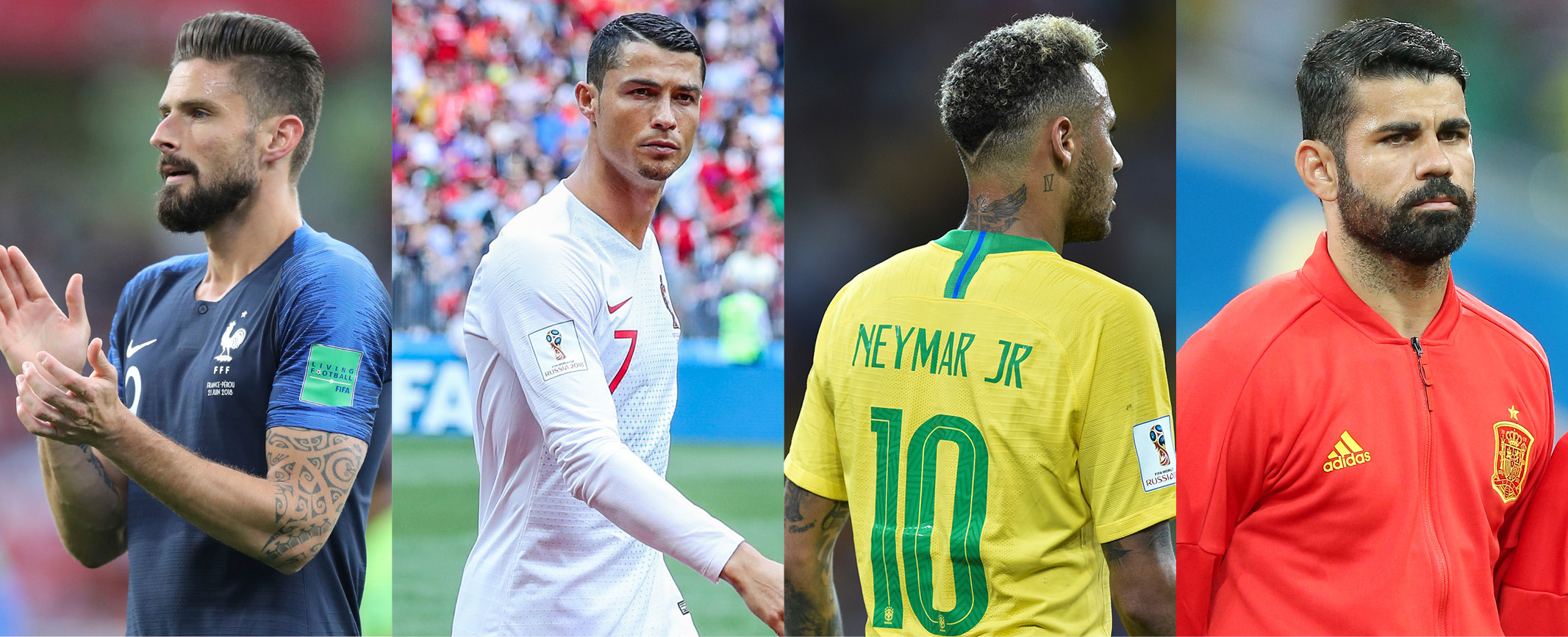 World Cup Hair Goals Which Footballers Are Turning Heads