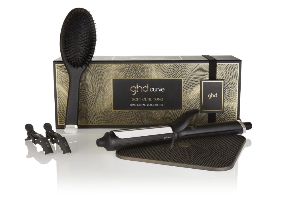 ghd Soft Curl tong gift set