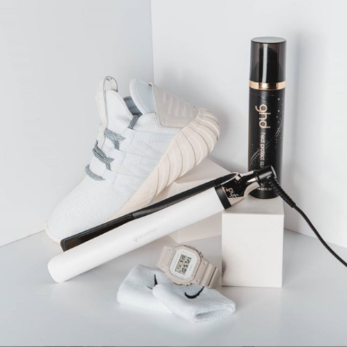 Heat protect spray and ghd straighteners