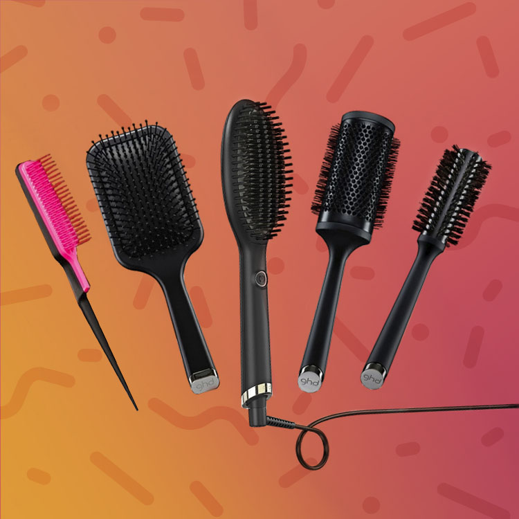 Various Supercuts hair brushes