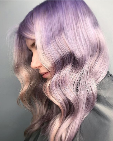 Wella Hair Instagram Lavendar 2019