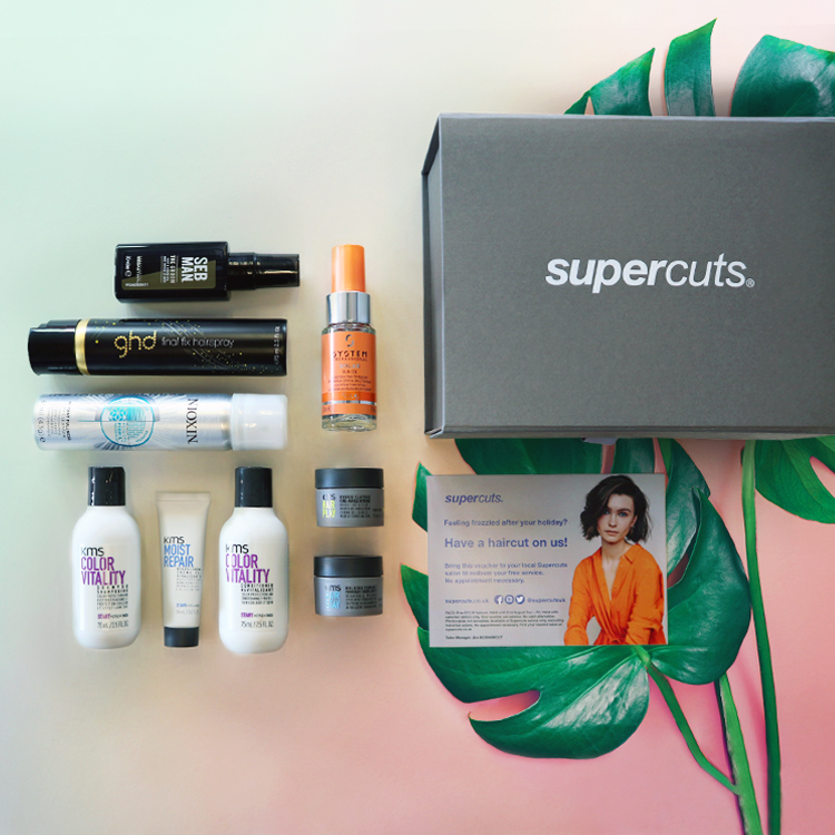 Supercuts Travel Beauty Box