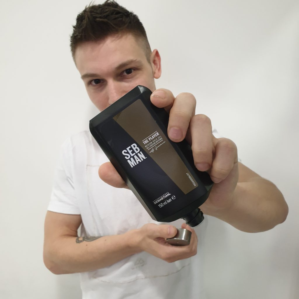 Christmas giftset ideas Seb Man The Player Hold Gel Hair Model
