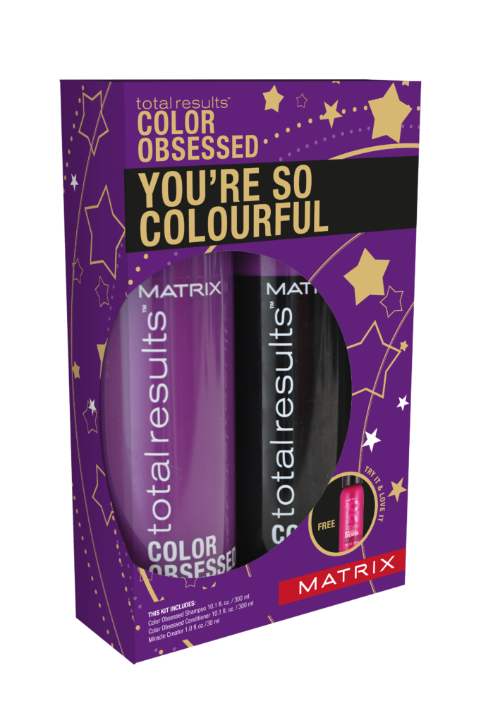 Christmas giftset Matrix 'Color Obsessed' You're So Colourful Giftset