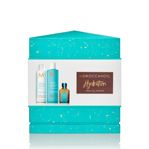 Christmas giftset Moroccanoil Hydrate from every angle