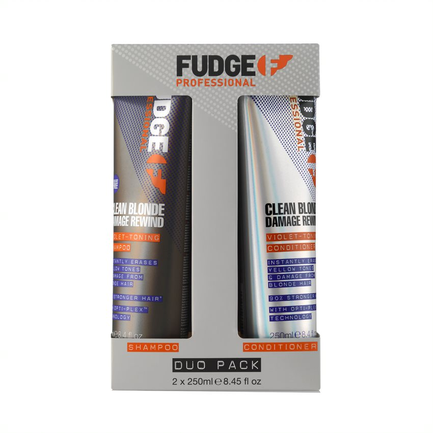 Christmas giftset Fudge Clean Blonde Duo