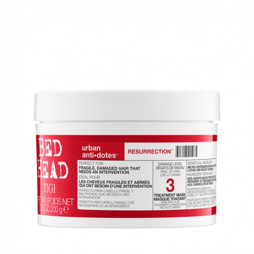 Hair care at home with Supercuts TIGI Bed Head Urban Antidotes Resurrection Treatment Mask