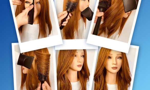 Here's how to create a voluminous blow dry at home
