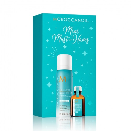Christmas gifting Moroccanoil Mini Must Haves Light Tones